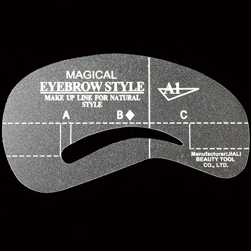 24Styles/Set Reusable Eyebrow Stencil Brow Shaping Template  Eye Brow DIY Drawing Guide Makeup Beauty Tool Eyebrow Stencils 2