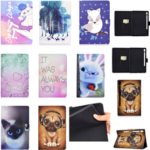 Luxury PU Leather Flip Wallet Case for Samsung Galaxy Tab S6 T860 10.5 2019 SM-T860 Silicone Cover Stand Coque with Auto Sleep