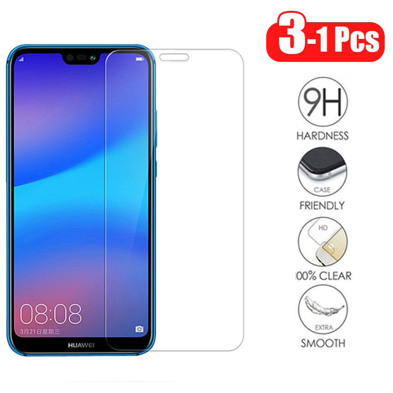 3-1Pcs/lot Full Tempered Glass For Huawei P20 Lite Screen Protector Glass For Huawei P20 P20 Pro P30