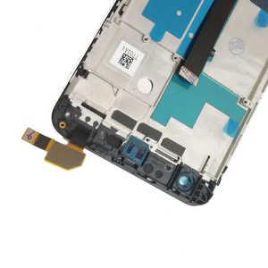 Image 3 - Voll LCD Für ZTE Klinge V8 LCD BV0800 Display Bildschirm Mit Rahmen Touch Sensor Digitizer Montage Für ZTE V8 V 8 Display AAAquality