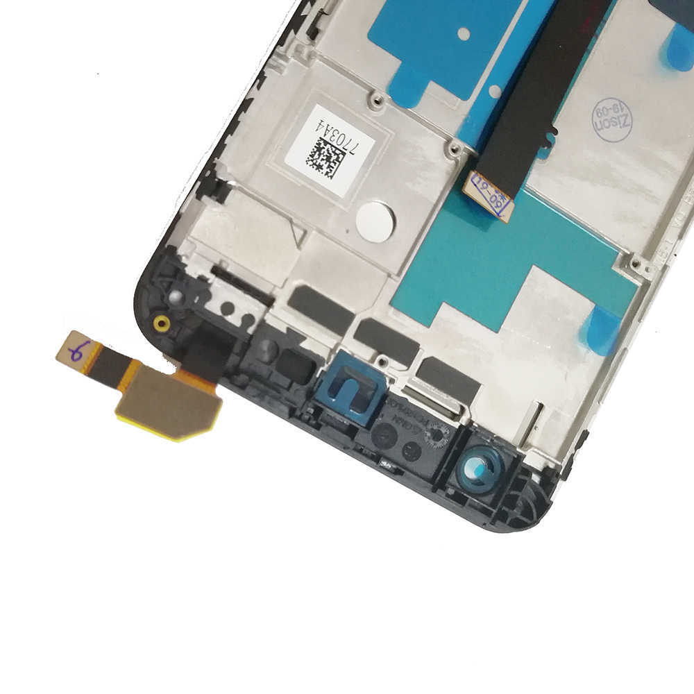 Image 3 - Полный ЖК дисплей для ZTE Blade V8 LCD BV0800 дисплей экран с рамкой сенсорный датчик дигитайзер сборка для ZTE V8 V 8 дисплей AAAqualityЭкраны для мобильных телефонов   -