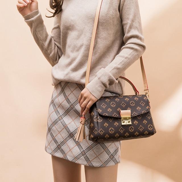 Vintage Crossbody Bags High Quality Luxury Handbag Female Famous Brand Designer Shoulder Bag For Women Messenger Bag For Ladies 1