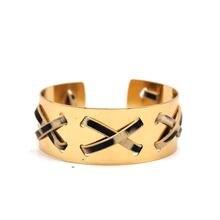 Золотой браслет Леопард богемная женская одежда аксессуары из