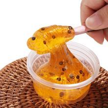 Дети DIY разноцветный Пластилин декомпрессии Кристалл грязи пчелиный мед Poke молоко пюре гончарная игра для маленьких мальчиков и девочек 60