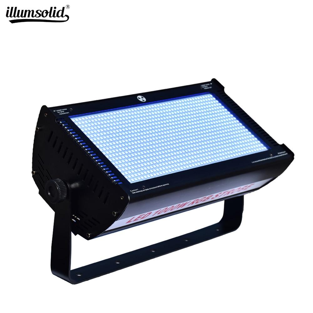 DMX 512 1000W RGB LED Strobe High Brightness Indoor Stage Lighting