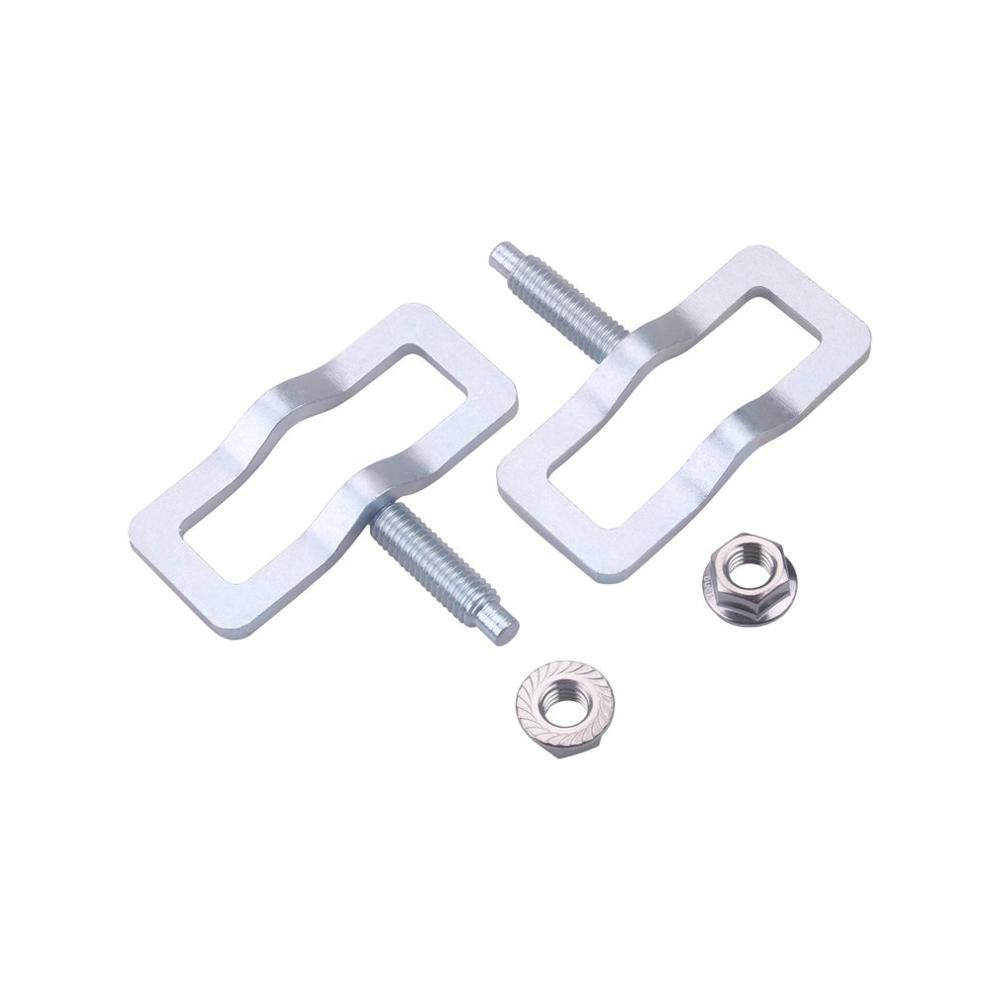 Silver Exhaust Manifold Repair Kit High Quality Metal Exhaust Stud Clamp Kit Car Replacement Kit for Ford Truck|Exhaust Manifolds| |  - title=