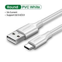 Round PVC White