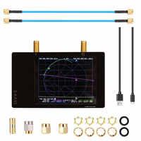 Analizador de red vectorial profesional 3G, S-A-A-2 NanoVNA V2, Analizador de antena de onda corta HF VHF UHF, Kit de demostración de onda de pie