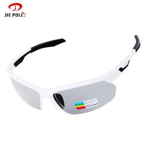 Поляризованные фотохромные солнцезащитные очки для велоспорта, уличные спортивные очки с защитой UV400, профессиональные велосипедные очки ...