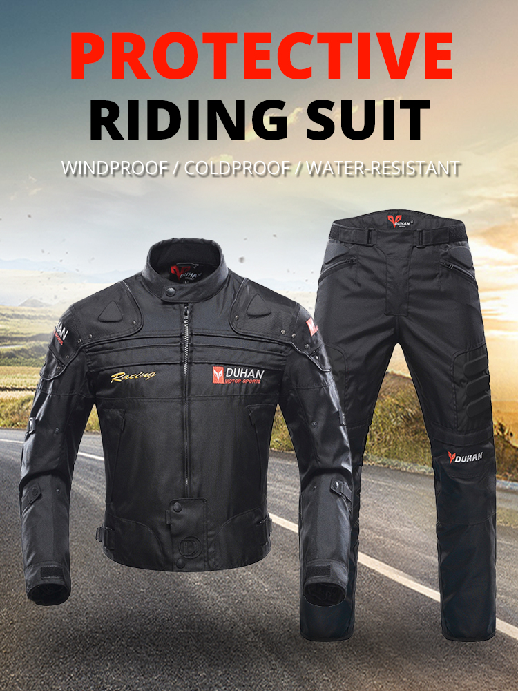 DUHAN Racing Jacket Clothing-Protection Enduro Riding Men Windproof