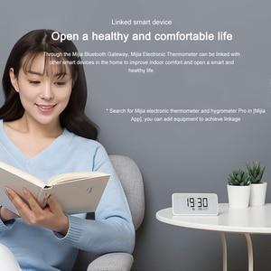 Image 5 - Nowy Xiaomi Mijia higrometr termometr Pro bezprzewodowy inteligentny elektryczny zegar cyfrowy kryty i odkryty LCD narzędzie do pomiaru temperatury