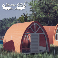 Casa de paisaje con características personalizadas