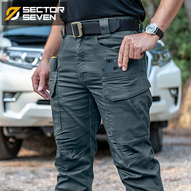 2020 New IX11 Tactical Pants Men's Cargo Casual Pants Combat SWAT Army Active Military Work Cotton Male Trousers Mens