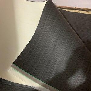 Image 5 - טכני עץ פורניר הנדסת פורניר E.V. שחור לבן 62x250cm רקמות גיבוי 0.2mm עבה ש/C