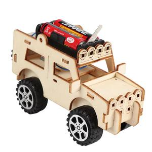 DIY Robot Mini Powered Toy Car Kit Movin