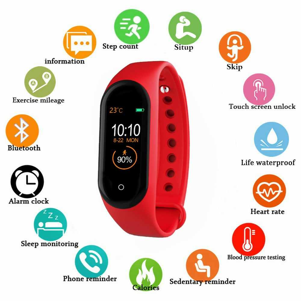 M4 Smart band 4 Fitness Tracker Watch Sport bracelet Heart Rate Blood Pressure Smartband Monitor Health Wristband