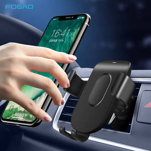 FDGAO Mount Car-Charger Wireless iPhone 11 Samsung for 10W QI 8-X-Xr/xs S10/s9 Gravity-Clamping
