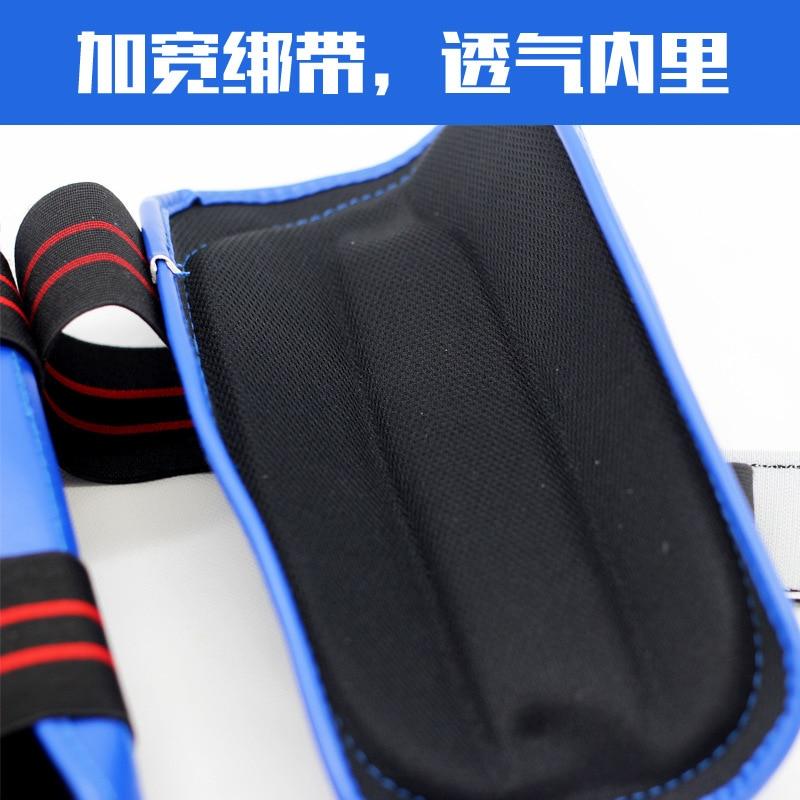 Taekwondo Leg Guard Elbow Guard Packaged Combination Karate Protector Boxing Sanda Legguard Elbow Guard Arm Guard + Legguard