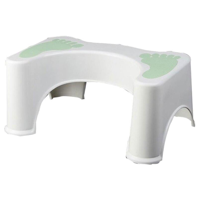 Bathroom Plastic Toilet Stool For Children And The Elderly 63HA