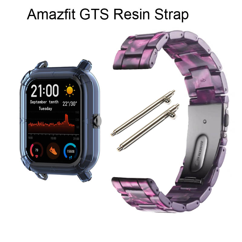 For Xiaomi Amazfit GTS Bracelet Watchband Amazfit Bip Smartwatch Strap 20mm Width Resin Strap Replace New