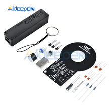 Kit de Detector de metales DC 3V-5V 60mm, módulo de Sensor sin contacto con caja de Banco de energía USB 18650