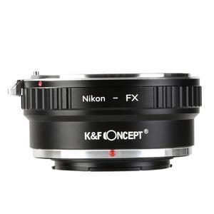 Image 2 - K&F CONCEPT Free Shipping Adapter Ring for Nikon Auto AI AIs AF Lens to Fujifilm Fuji FX Mount X Pro1 X E1 Camera