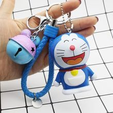 2020 Popular Gift Bell Key Chain Student Schoolbag Hanging Doll Key Chains Ring Pendant To Give Friends The Best Gift 2020 new key chain duck key chain mickey daisy key ring pendant student schoolbag pendant the best gift