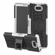 Shockproof Armor Beschermhoes Voor Sony E5 C5 C6 Xperia 10 XA XA1 XA2 XA3 Ultra X mini L1 L2 l3 Plus Compact Hard Cover Case