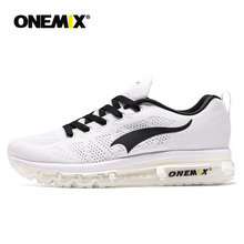 ONEMIX Men Running Shoes For women Air Mesh Knit Cushion Trainers Tennis Deodorant Insole Outdoor Athletic Walking Jogging Shoes onemix 2018 men running shoes for women mesh knit trainers designer trends tennis sports outdoor travel trail walking sneakers