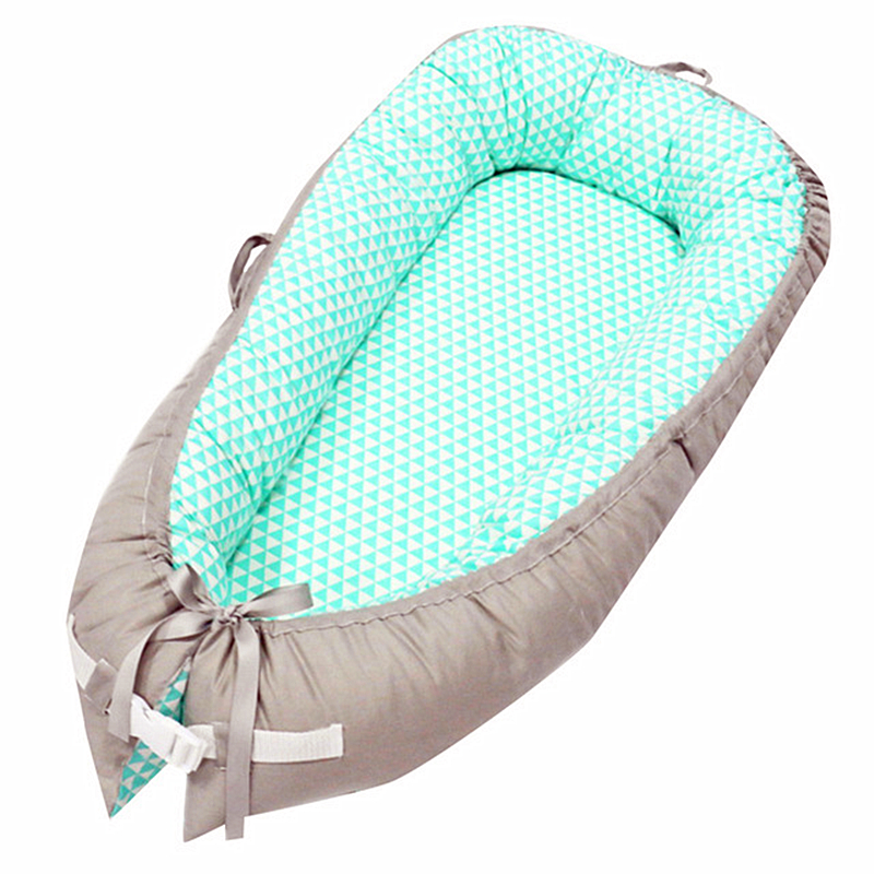 Baby Portable Removable And Washable Crib Travel Bed Nest Bed Crib Cotton new Crib Travel Bed For Children Infant Kids in Baby Cribs from Mother Kids