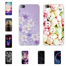 For Xiaomi Redmi Go Case Ultra Slim Soft TPU Silicone Cover Flowers Patterned Shell Capa