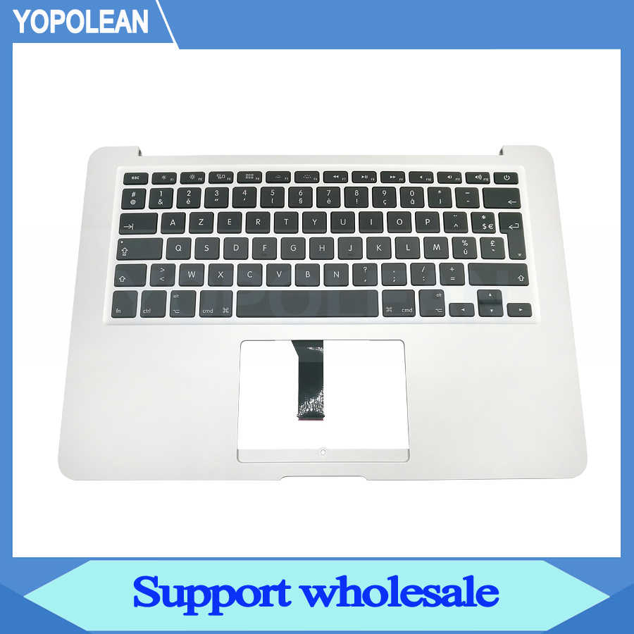 "Clavier français AZERTY d'origine Topcase Top Case repose-main pour Macbook Air 13 ""A1466 2013 2014 2015 2017"