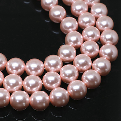 Perlas de imitación redondas para mujer, abalorios sueltos de 4-14mm de alto grado, fabricación de joyas de 15 pulgadas, gran oferta, venta al por mayor