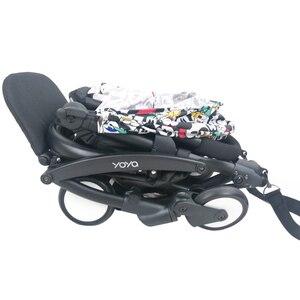 Image 4 - Bebek arabası ayak ve deri kumaş malzeme gidon arabası aksesuarları için Babyzen Yoyo yoga Babytime arabası tampon