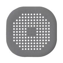 Разделитель для волос канализационный фильтр сетчатый слив Противоскользящий силиконовый душ кухонная раковина аксессуары для дома Практичный чехол для ванной ситечко