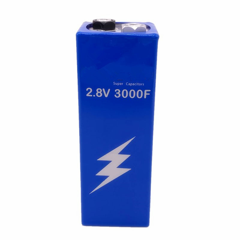 Super Farad Capacitor 2.8V 3000F 161*56*56mm Low ESR High Frequency Super Capacitor 2.8V3000F