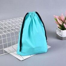 Шнурок мешок Eva водонепроницаемый мешок Обувь Одежда организатор сумка небольшой Draswing сумка для покупок шнурок рюкзак мешочек