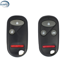 Botón 3/4 para Honda S2000/CRV/Accord/Legend Key funda/carcasa/en blanco
