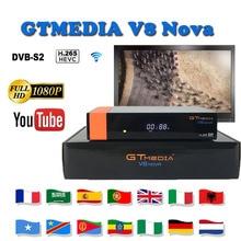 Best stable satellite receiver Gtmedia V8 Nova DVB-S2 1080P H.265 support freesat youtube cccam server tv decoder