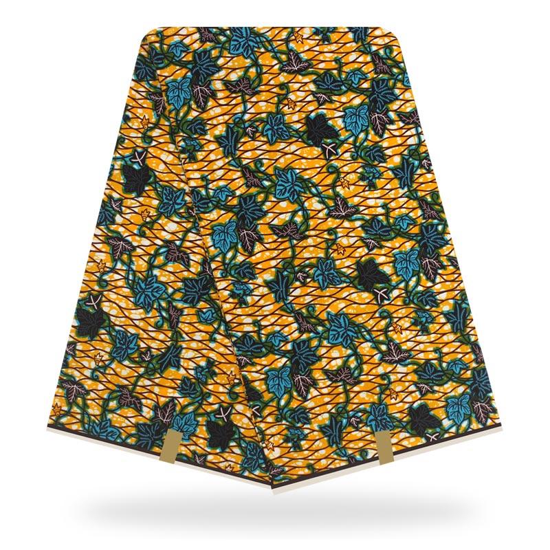Tissu africain Ankara Hojilou tissus de haute qualité impression de tissu de cire 100% coton tissus africains véritable cire hollandaise! 3s1983