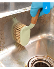 Multifunction brush Kitchen bathroom Cleaner Window Cleaning Brush Helper Washing Tool tile floor hard cleaning tools