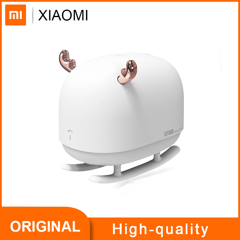 Xiaomi Mijia SOTHING DSHJ H 009 260ML Air Humidifier Household Large Mute Sterilization Aroma Diffuser Night Light|Humidifiers|   - AliExpress