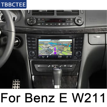For Mercedes Benz E Class W211 2002 2003 2004 2005 2006 2007 2008 2009 NTG Car Multimedia Player AndroidMap GPS Autoaudio DVD