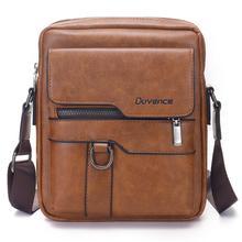 Retro Men Bag PU Leather Men Shoulder