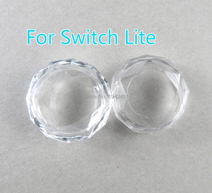 Image 1 - 2pcs for ns switch Joy Con Joystick crystal Thumb Grip Cover Case crystal Analog Stick Caps for Nintend Switch Lite NS Joy Con