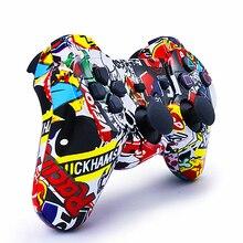 Uyumlu Ps3 Gamepad bluetooth denetleyicisi Joystick Vibratör SIXAXIS Uyumlu Playstation 3 Kablosuz Gamepad ps3