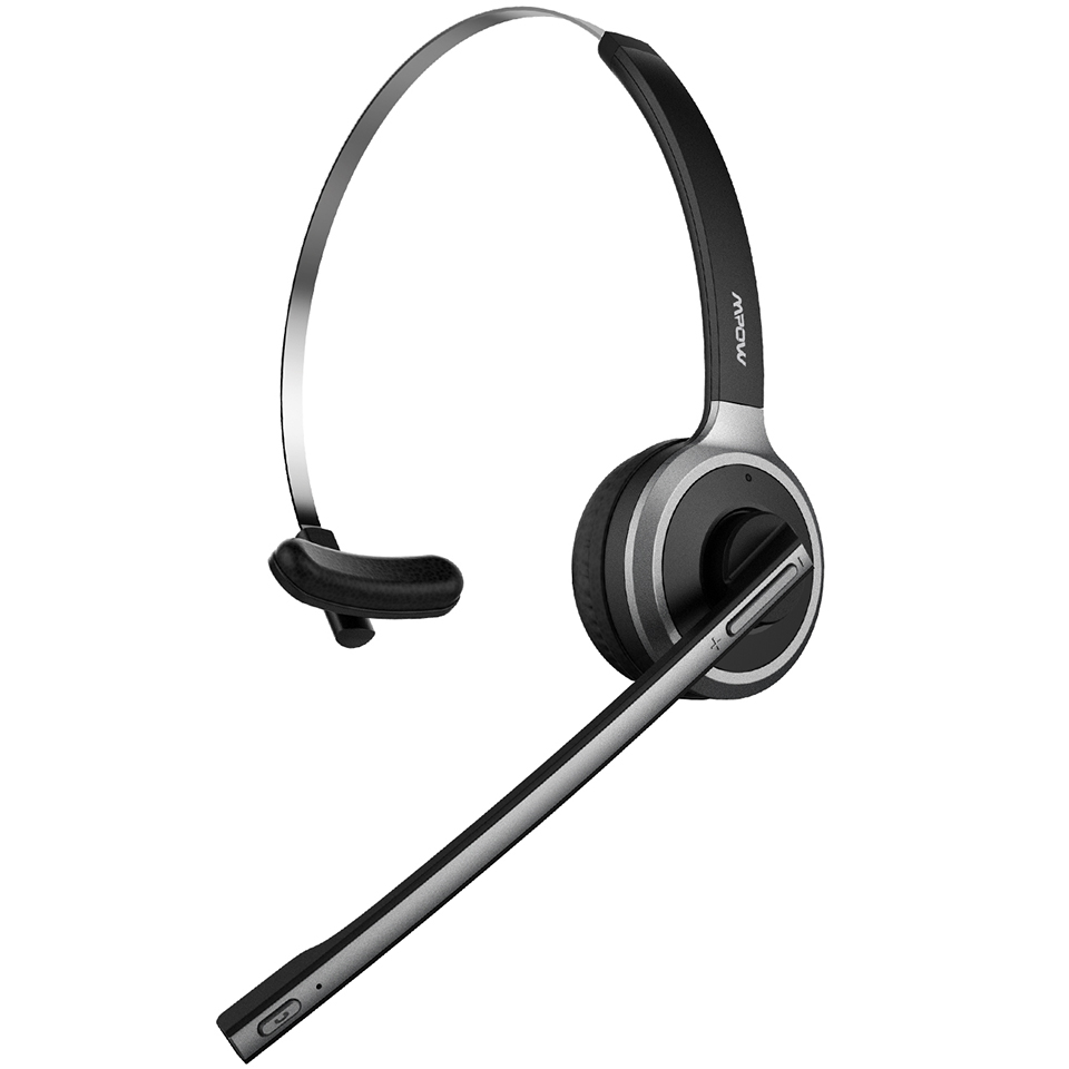 Mpow M5 Bluetooth 4.1 Headset Wireless Over-Head Noise Canceling Headphones With Crystal Clear Microphone For TruckerDriver (9)