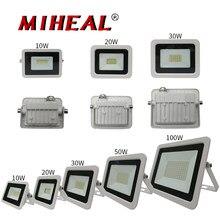 220V 230V 240V светодиодный промышленное освещение мощностью 10 Вт, 20 Вт, 30 Вт, 50 Вт 100 цех завода гараж IP68 Водонепроницаемый Рабочая лампа светодиод...