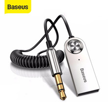 Baseus BA01 receptor USB con Bluetooth transmisor Bluetooth 5,0 AUX de 3,5mm Bluetooth adaptador de Cable de Audio para Speakerx auriculares