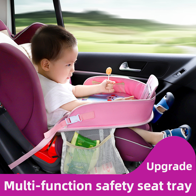 mofan Car baby safety seat tray child car storage small table waterproof pallet multi-function plate home supplies